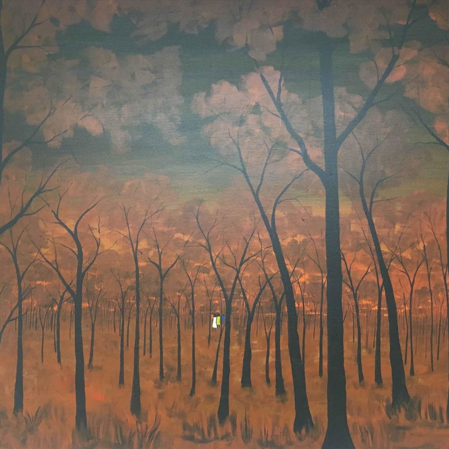 Extra Large Landscape - Painting - James  Archer Djunkinburri